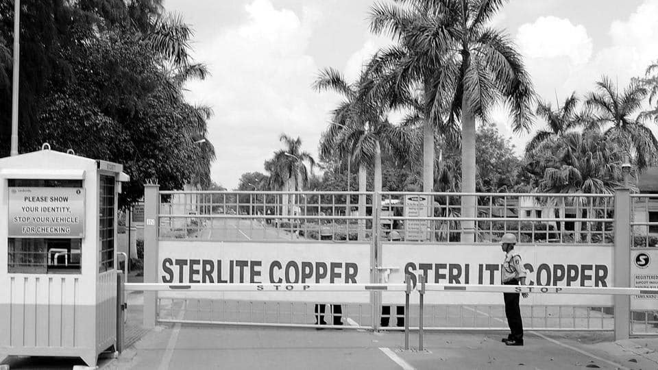 Sterlite protests brings down the value of firm's shares heavily