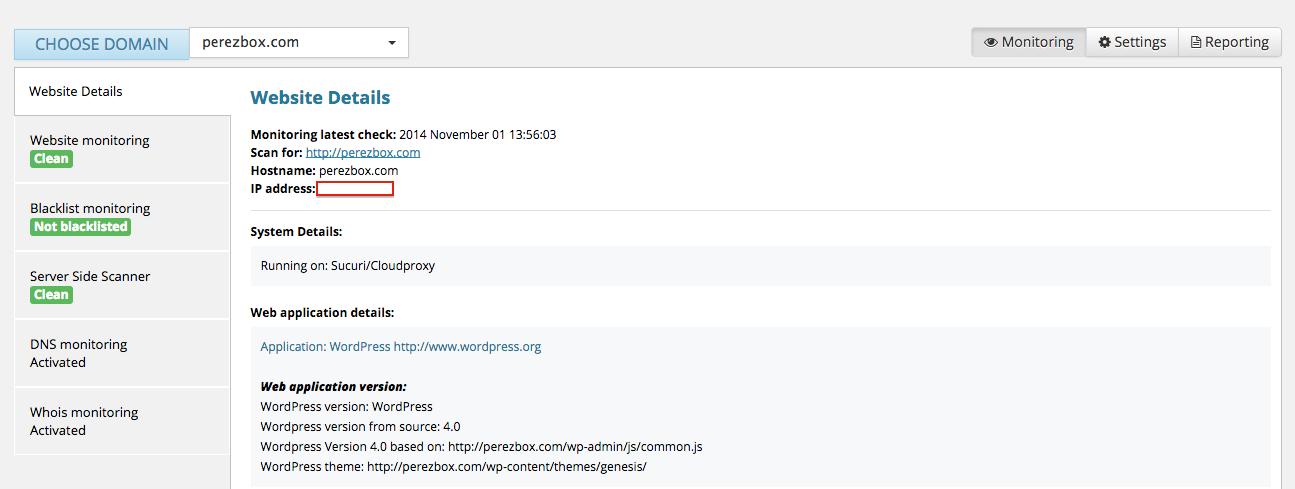 WordPress Security Configuration - Sucuri Website AntiVirus