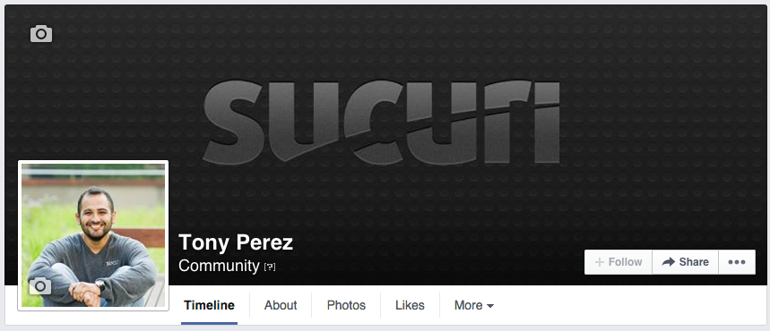 Facebook Professional Page