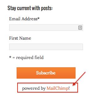 MailChimp Affiliate Link