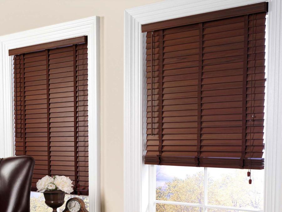Venecianas de madera for Ganchos para cortinas de madera