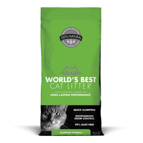 World's Best - Quick Clumping Cat Litter