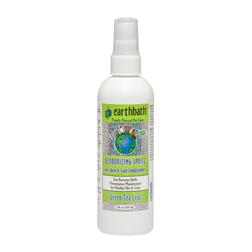 Earthbath - Deodorizing Green Tea Leaf Spritz With Skin & Coat Conditioners, 8oz