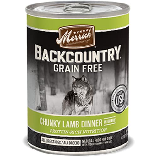 Merrick - Backcountry Chunky Lamb Dinner Grain-Free Canned Dog Food