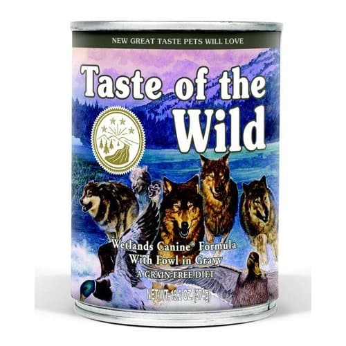 Taste Of The Wild - Wetlands Formula Grain-Free Canned Dog Food