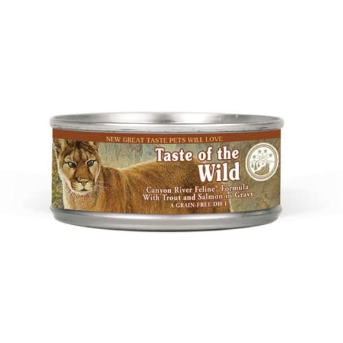 Taste Of The Wild - Canyon River Formula Grain-Free Canned Cat Food
