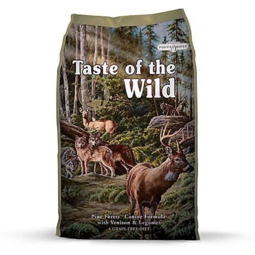 Taste Of The Wild - Pine Forest Grain-Free Dry Dog Food