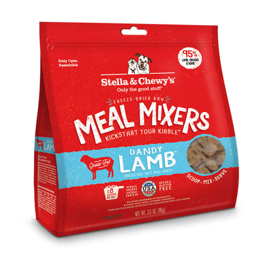 Stella & Chewy's - Dandy Lamb Meal Mixers Grain-Free Freeze Dried Dog Food