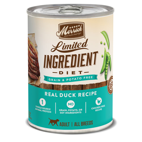 Merrick - Limited Ingredient Diet Real Duck Recipe Grain-Free Canned Dog Food