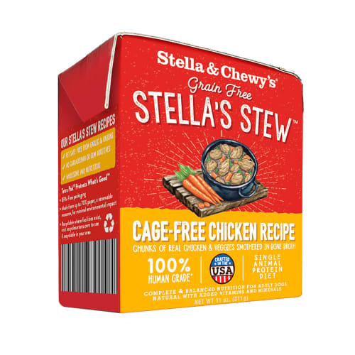 Stella & Chewy's - Stella's Stew Cage-Free Chicken Recipe Wet Dog Food, 11oz