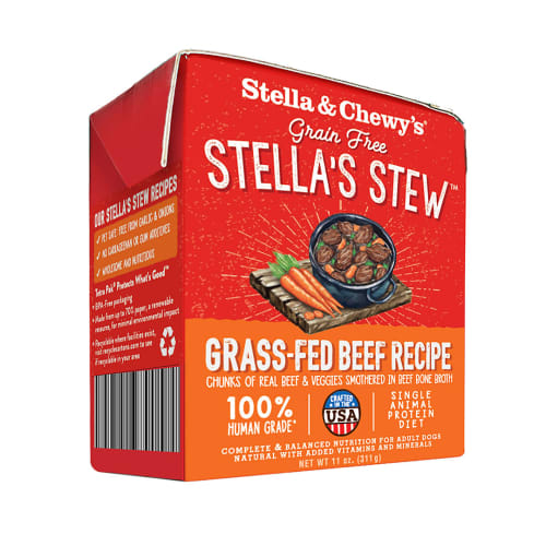 Stella & Chewy's - Stella's Stew Grass-Fed Beef Recipe Wet Dog Food, 11oz