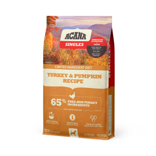 Acana - Singles Turkey & Pumpkin Formula Grain-Free Dry Dog Food