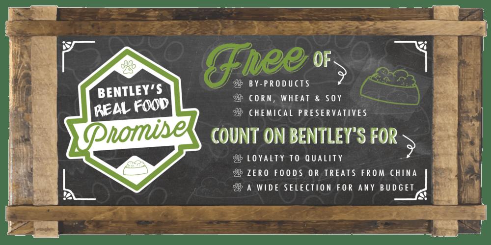 Bentley's Food Promise