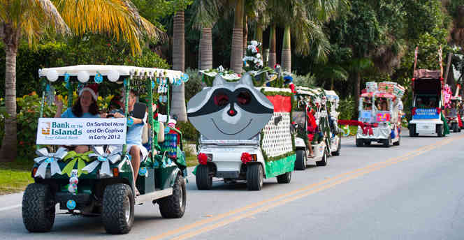 Captiva Luminary Festival and Golf Cart Parade
