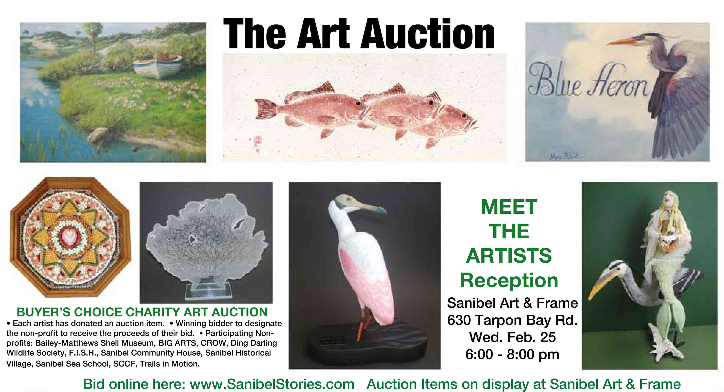 Pfeifer Art Auction to Benefit Island Non-Profits