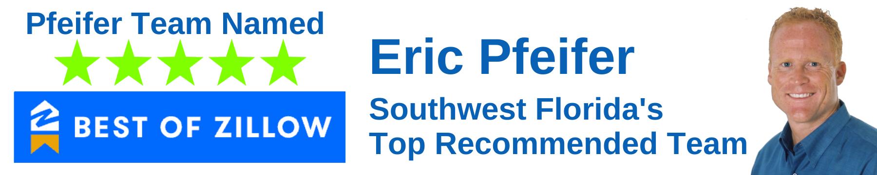 Eric Pfeifer Team Named BEST OF ZILLOW