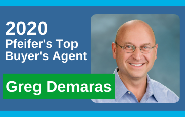 2020 Top Buyer's Agent Greg Demaras