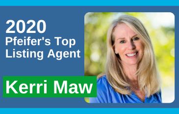 2020 Top Listing Agent Kerri Maw