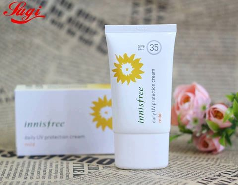 Kem chong nang Innisfree daily UV protection cream mild SPF35 PA+++