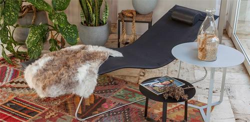 Ambiente Escandinavo com móveis da Galeria das Lonas