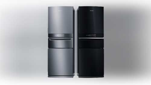 Brastemp lança refrigerador Inverse de 3 portas, o primeiro do mercado