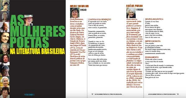 A história da poesia feminina no Brasil