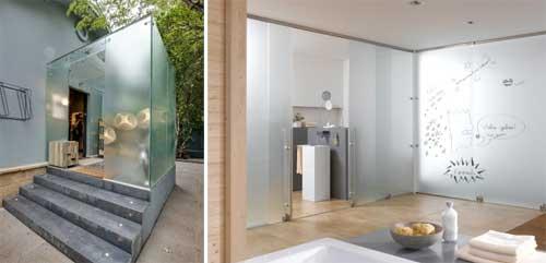 Versatilidade do vidro ganha destaque em projetos