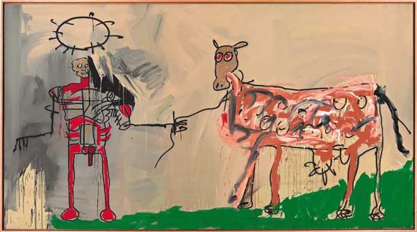 Arte de Basquiat no Brasil em 2018