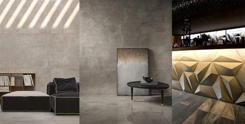 Decortiles apresenta revestimentos inspirados na decoração industrial