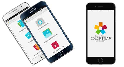 Sherwin-Williams lança aplicativo de cores ColorSnap em português