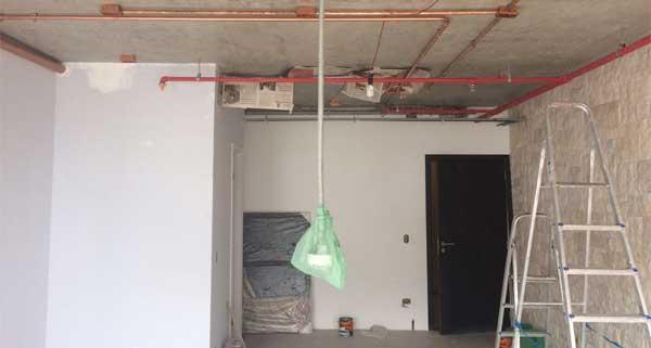 A vistoria em apartamento novo