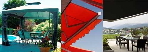 Toldos e coberturas Cipatex protegem e decoram os ambientes