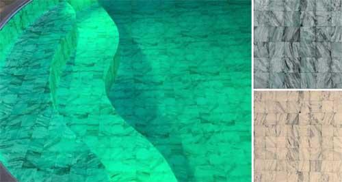 Grécia inspira nova linha de revestimento para piscina Cipatex
