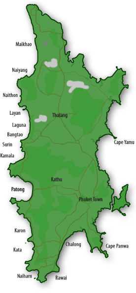 Map of Property in Phuket