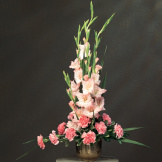 """In Her Honor"" Gladioli Floral Arrangement"