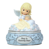 Sleep in Heavenly Peace - Musical Figurine