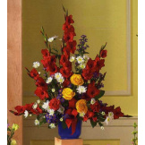 Red & Yellow Floral Bouquet