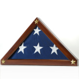 Federal Display Case for Memorial Flag
