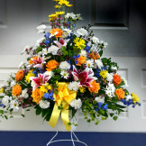 Grand Pedestal Basket
