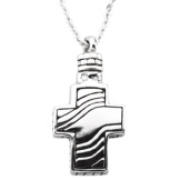 Cross Holder Pendant and Chain