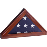 Flag Display Case for Memorial Flag