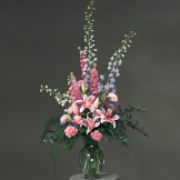 Light Pink Mixed Sympathy Bouquet