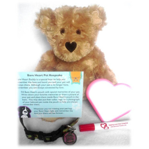 Bare Heart Buddy Pet Loss Keepsake