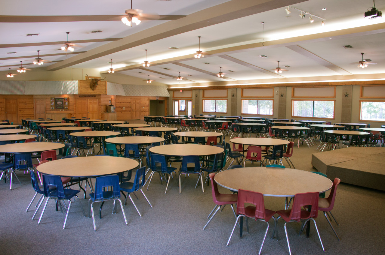 Ranch Dining Hall Interior