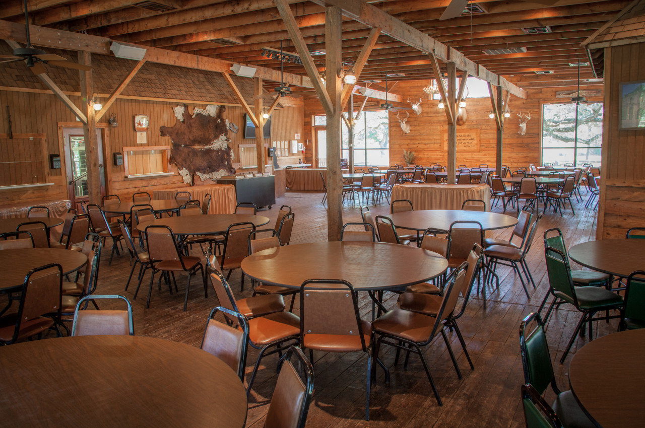 Crier Creek Dining Hall Interior