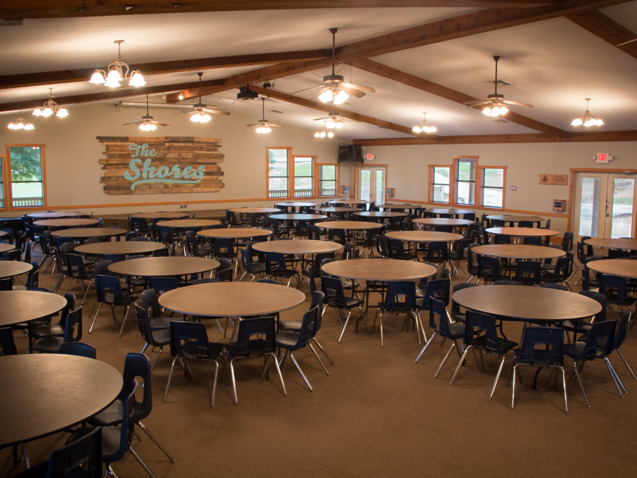 Shores Dining Hall Interior