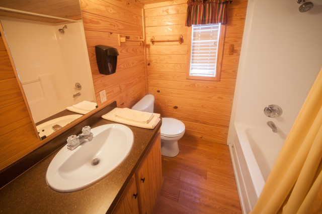 Crier Creek Cabin Interior