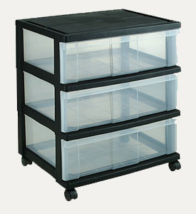 Clear Plastic Drawers