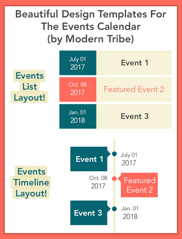 calendar of events template word - the events calendar templates and shortcode wordpress