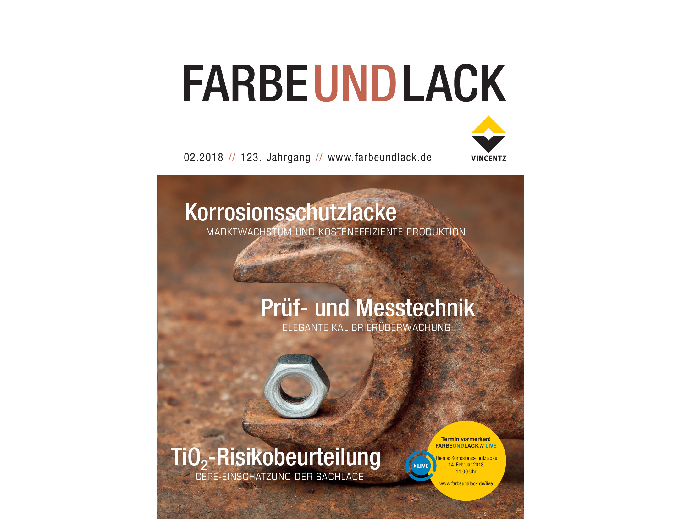 FARBE UND LACK article about PINPOOLS